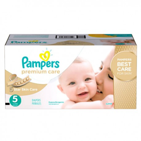 Maxi mega pack 420 Couches Pampers Premium Care taille 5 sur Promo Couches