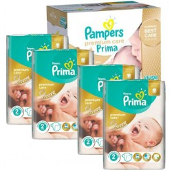 Pack 44 Couches Pampers New Baby Premium Care taille 2
