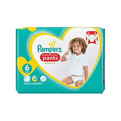 Pack 37 Couches Pampers Premium Protection Pants taille 6 sur Promo Couches