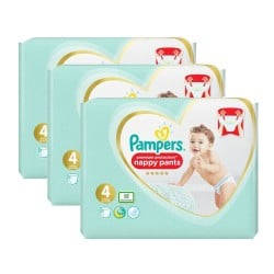 Pack 95 Couches Pampers Premium Protection Pants taille 4