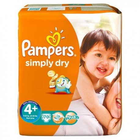 Couches pampers simply dry taille 4 bas prix 70 couches sur promo couches - Promo couche pampers auchan ...