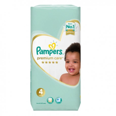 Pack 20 Couches Pampers New Baby Premium Care taille 4 sur Promo Couches