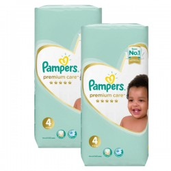 Mega pack 180 Couches Pampers New Baby Premium Care taille 4