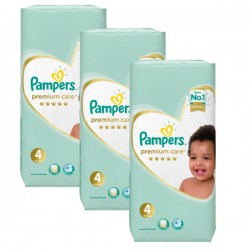 Maxi giga pack 340 Couches Pampers New Baby Premium Care taille 4
