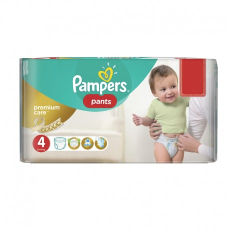 Pack 66 Couches Pampers Premium Care Pants sur Promo Couches