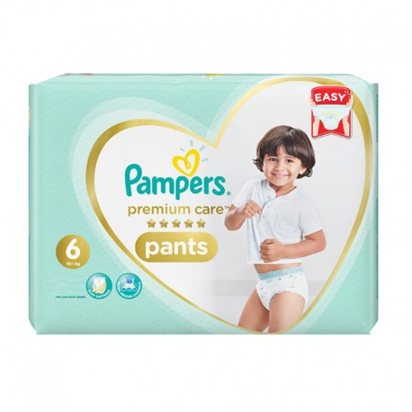 Pack 36 Couches Pampers Premium Care Pants taille 6 sur Promo Couches